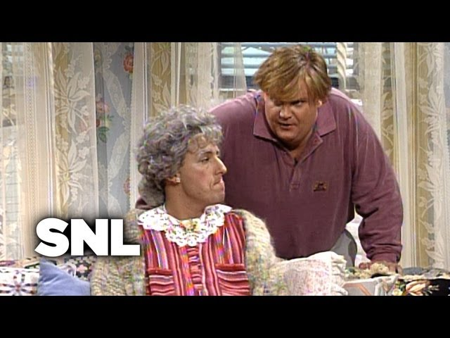 Bobby Watches Grandma - SNL