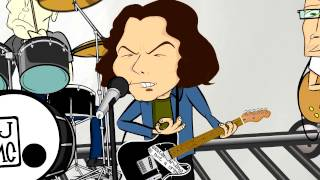 Pearl Jam - Lukin (Cartoon Video) HD