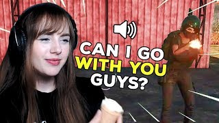 WHEN YOU FINALLY MET A GIRL IN PUBG PUBG Funny Voice Chat Moments Ep 14