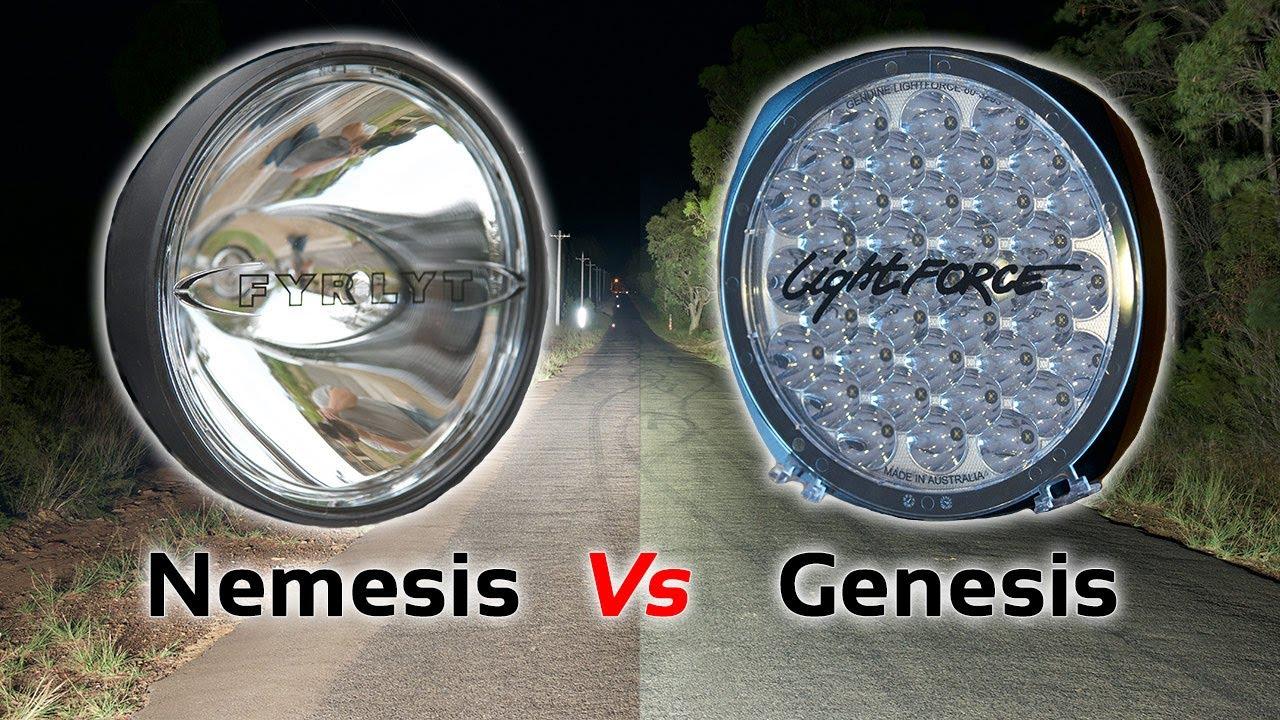 Fyrlyt Nemesis Vs Lightforce Genesis Led