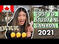 COST TO STUDY IN CANADA 2021   For International Students