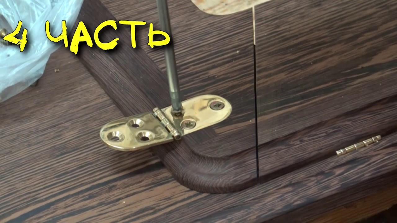 Столярка для начинающих - фрезерные работы   стол для швейной машинки 4 часть