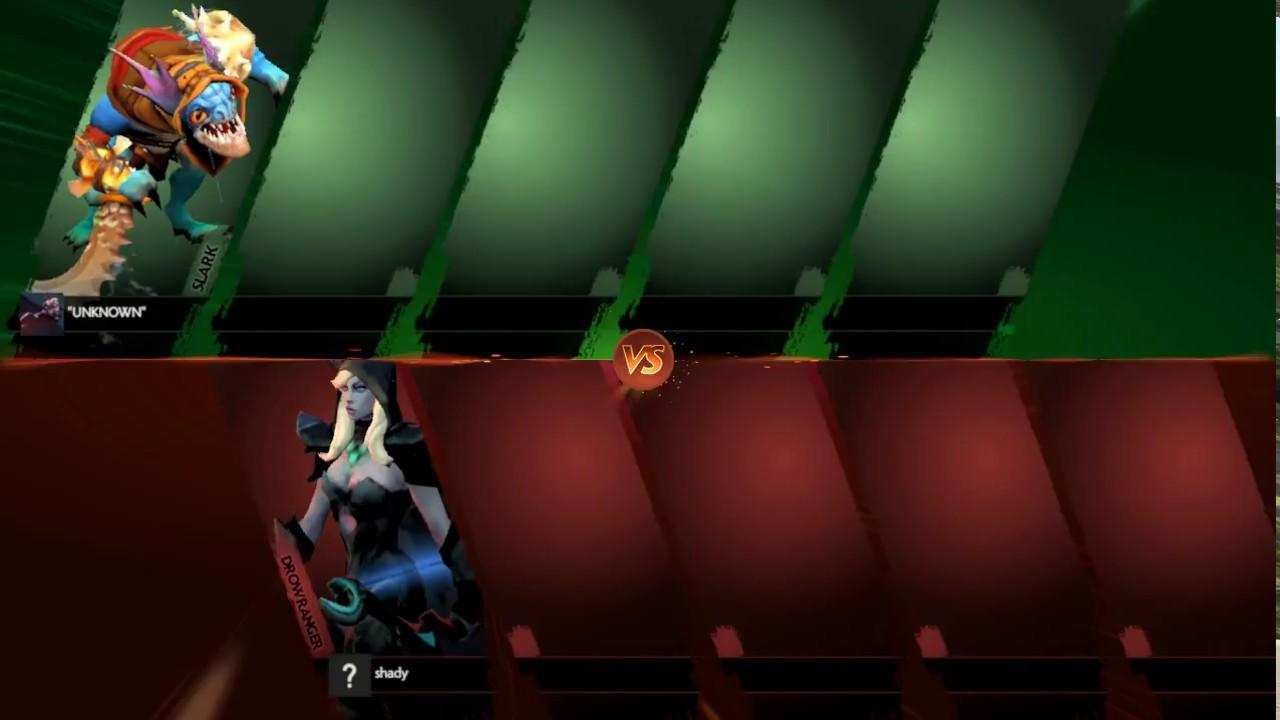 Drow Ranger vs Slark Dota2 Duel 1vs1