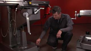 JET Metalworking Vertical Milling Machines Demo