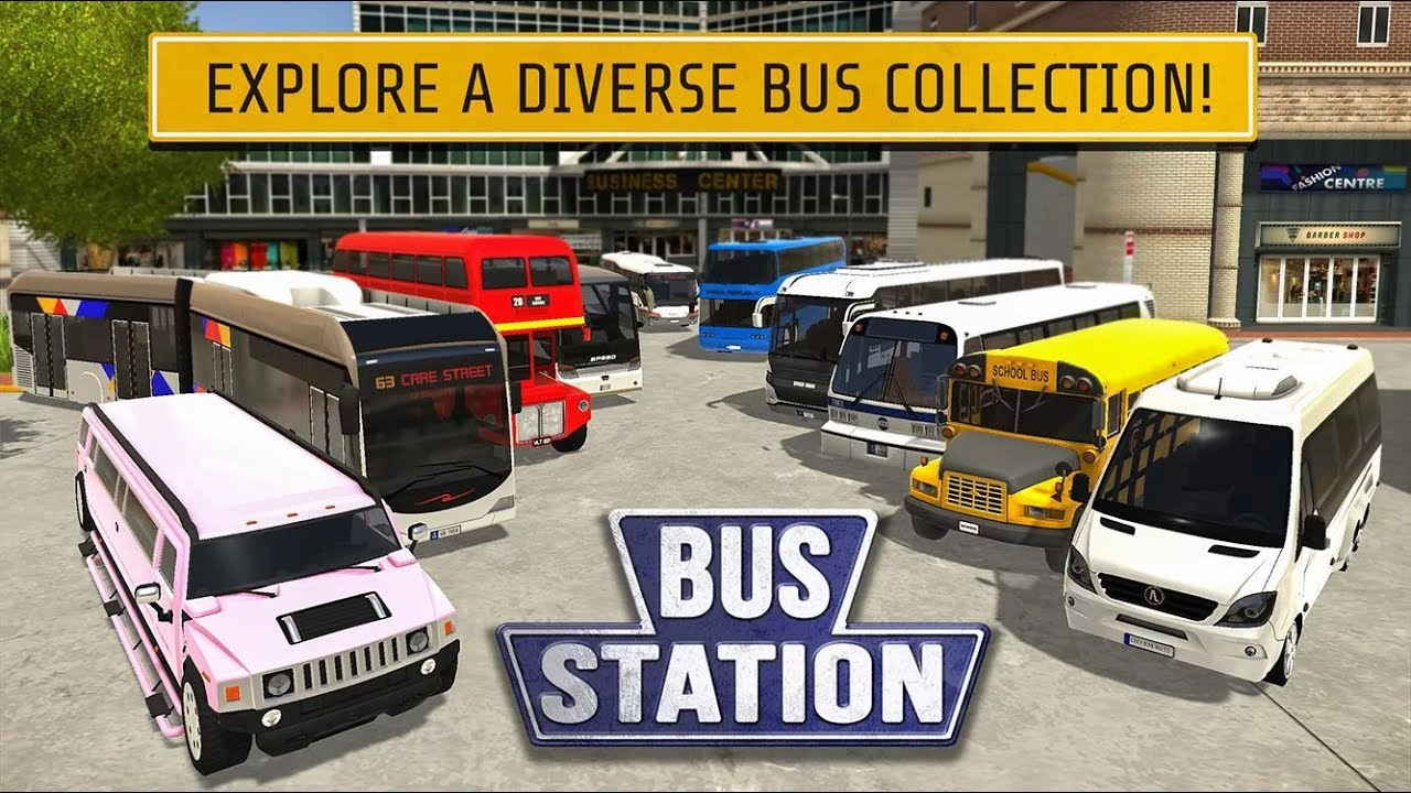 Bus Station: Learn to Drive - Android Gameplay Full HD (By Play With Games)