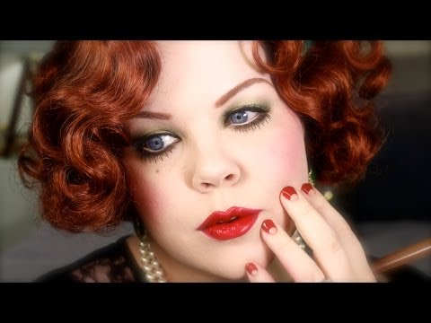 96f2d0b7981 1920s Makeup Plus Size Flapper Halloween Tutorial by Cora Diane