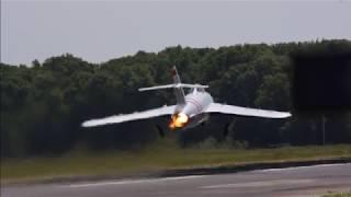 Mig-17 Startup and Departure- Mississippi Afterburner 2018