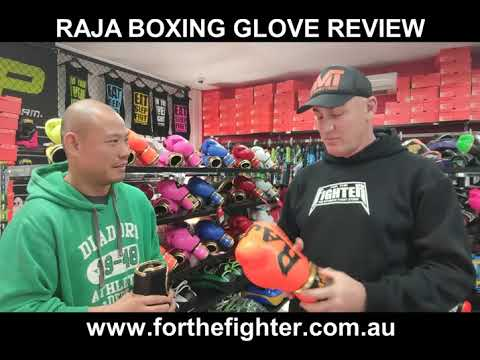RAJA Boxing Glove Review - For The Fighter