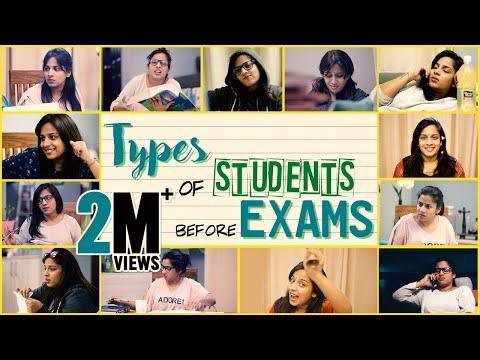 Types of Students before Exams || Mahathalli
