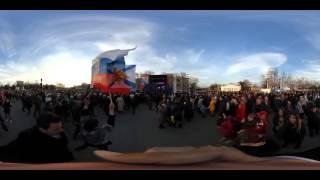 Видео 360: Корреспондент RT прогулялся по Севастополю во вторую годовщину возвращения Крыма