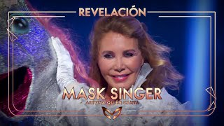 Norma Duval, desenmascarada como el Unicornio | Mask Singer: Adivina quién canta