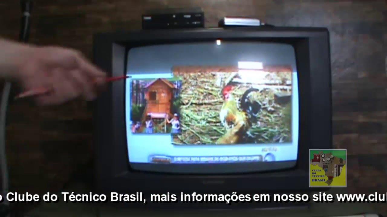 Televis 227 O Antiga Sem Entrada Para Conversor Digital Youtube
