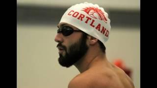 SUNY Cortland Swimming & Diving v. Fredonia (Senior meet) Feb. 4, 2017