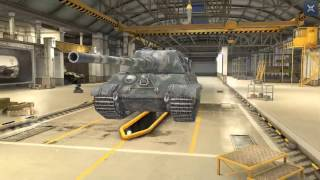 World Of Tanks Blitz Game Play (Jagdtiger)