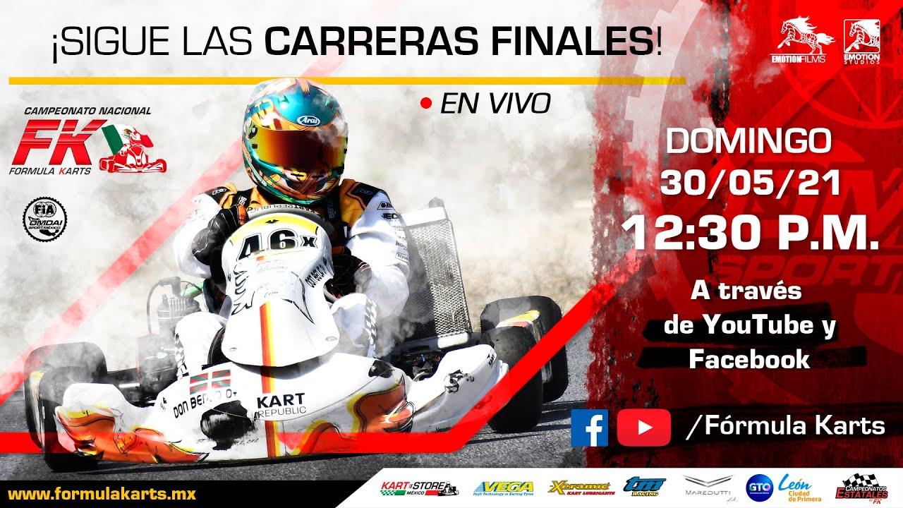 Trasmisión en VIVO 3ra fecha Nacional Fórmula Karts 2021