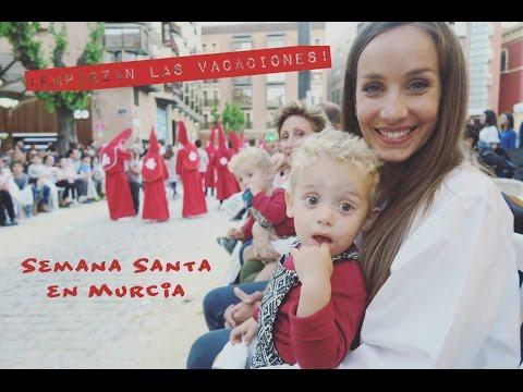 VLOG| Empiezan nuestras VACACIONES de SEMANA SANTA en MURCIA | Fátima Cantó