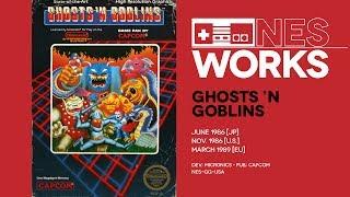 Ghosts 'N Goblins retrospective: The delicate art of self-flagellation | NES Works #032