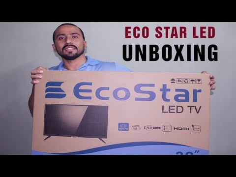 Eco Star 32 Inch Led Tv Review & Unboxing In Urdu