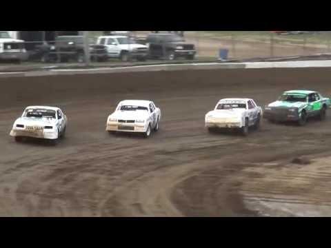 Hobby Stock Heats Independence Motor Speedway 7/2/16