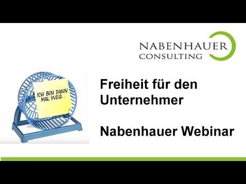 Freiheit für den Unternehmer - Vertriebsanbahnung automatisieren - Webinar Einladung