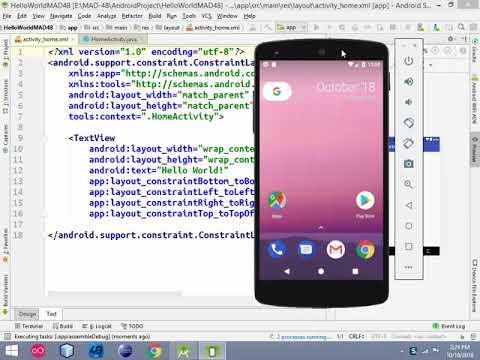 Android Bangla Tutorial-1: Basic Views