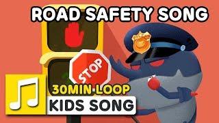 ROAD SAFETY SONG | 30MIN LOOP | Nursery Rhymes | LARVA KIDS Songs for Children