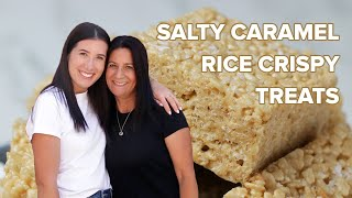 Salty Caramel Rice Krispies As Made By Bliss & Baker  Tasty