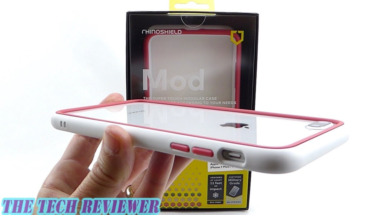 san francisco e27a2 0e381 Bumper? Full Case? Camera Case? 11 Ft Drop Protection? It's the *NEW*  RhinoShield Mod for iPhone 8+!