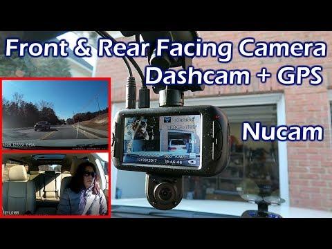 Dual Camera Dashcam Front & Rear Facing Camera – Nucam DL