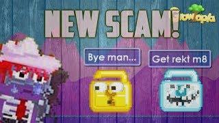 GrowTopia - New Scam Beware (2017)