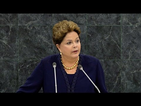 President Of Brazil Rebukes American Global Spying