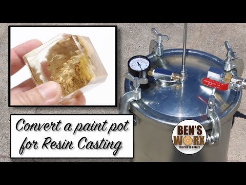 DIY Pressure Pot for resin casting