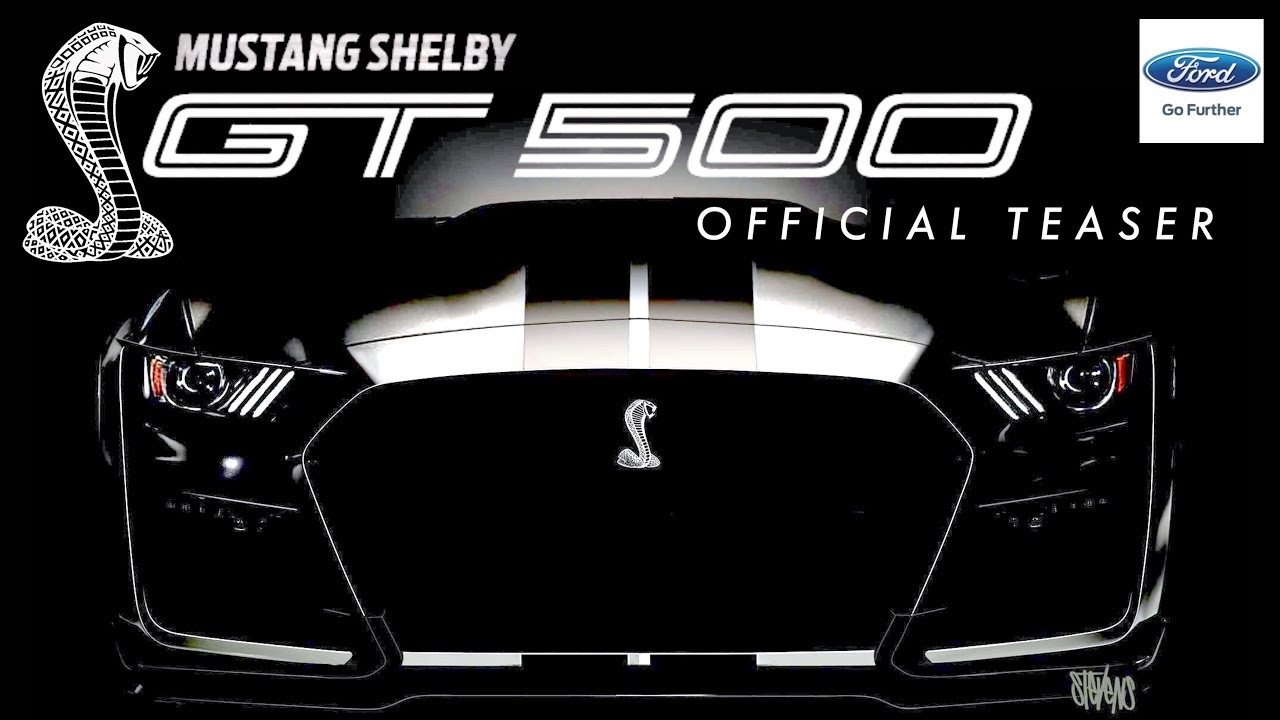 2019 Shelby GT500: FIRST LOOK! (Official Teaser ...