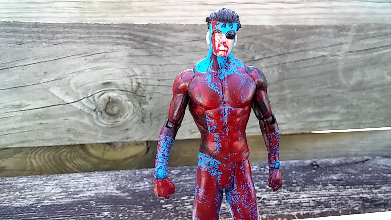 INVINCIBLE Action Figure Bloody