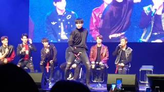 161111 GOT7 (갓세븐) Yugyeom Sexy Dance [Vancouver Fan Meeting]