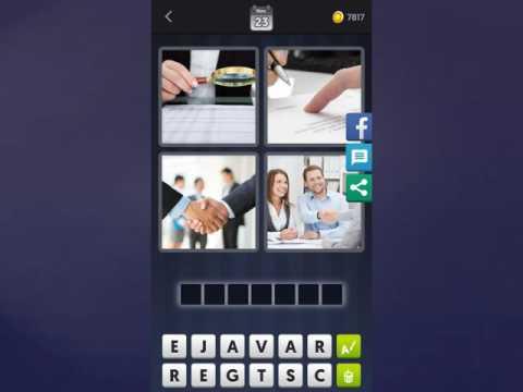 4 Bilder 1 Wort-Tägliches Rätsel Lösung [Australien-23.11.2016] - Duur: 0:16.