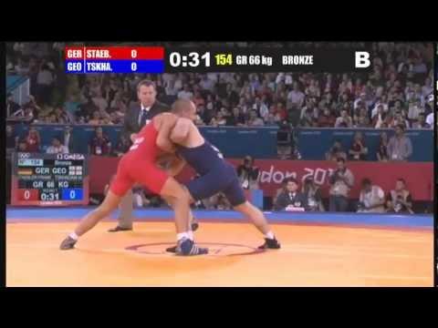 F.Stabler (GER) - M.Tskhadaya (GEO), 66 kg, bronze.