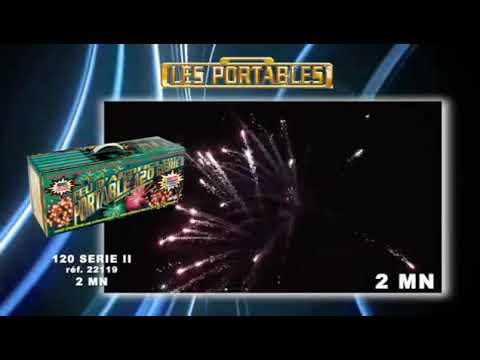 Feu d'artifice automatique portable 120 série II
