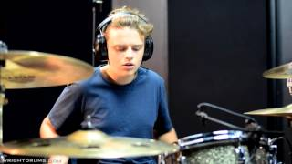 Wright Drum School - Marcus Field - The Killers - When You Were Young - Drum Cover