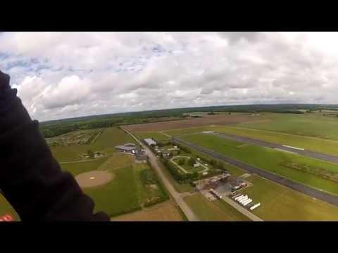 Mon 1er vol en parachute ascensionnel