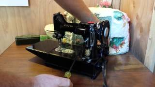How To Adjust a Singer Featherweight Belt