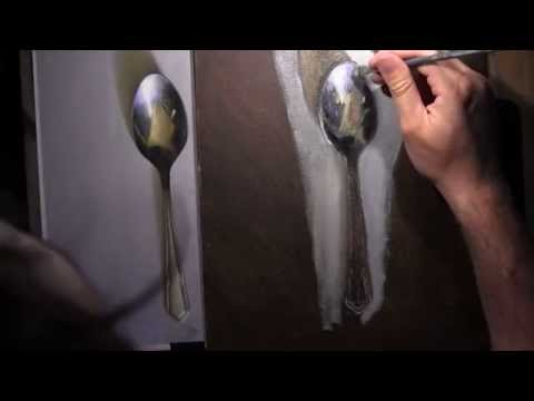 Tea Spoon - Oil Painting Lesson