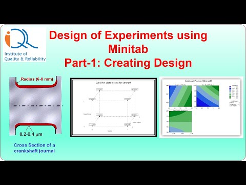 Doe 6 Case Study In Creating Full Factorial Design In Minitab Optimization Of Fatigue Strength Youtube