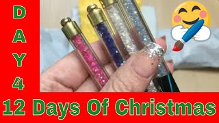 12 Days Of Christmas . Nails Product  Unboxing From AliExpress