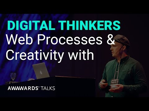 The Key to Web Processes & Creativity : Bjarne Chistensen Awwwards Amsterdam