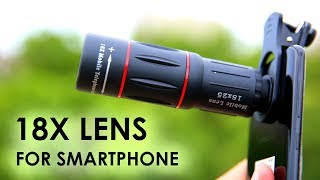 Download Massive 18x Lens for Your Smartphone Mp3 and Videos