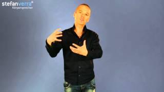 Körpersprache Tipps: Der Unterschied zwischen Mensch und Tier