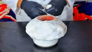 Blood vs Hydrogen Peroxide - Chemical Reaction