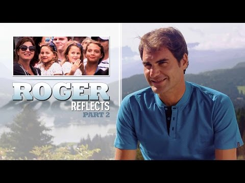 Roger Reflects: Federer Enjoying Time At Home
