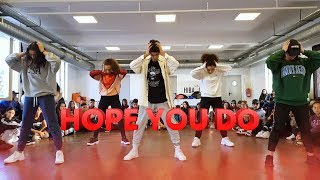 Chris Brown - Hope You Do | Dance Choreography